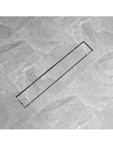 pailgas dušo latakas, nerūdijančio plieno, 730x140 mm  | Sifonai | duodu.lt