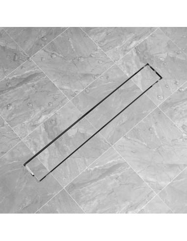 pailgas dušo latakas, 830x140 mm, nerūdijančio plieno | Sifonai | duodu.lt