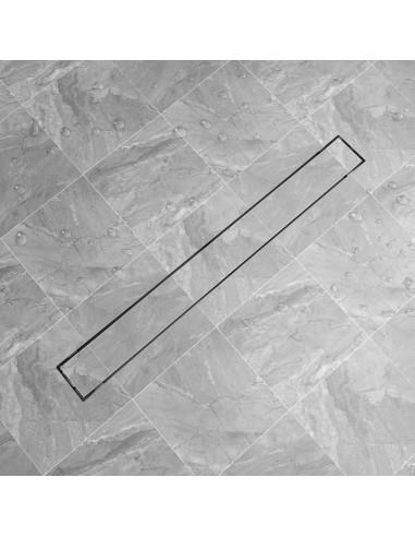 pailgas dušo latakas, 1030x140 mm, nerūdijančio plieno   Sifonai   duodu.lt