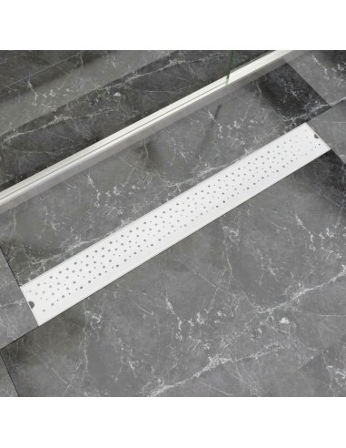 pailgas dušo latakas, nerūdijančio plieno, 930x140 mm   Sifonai   duodu.lt