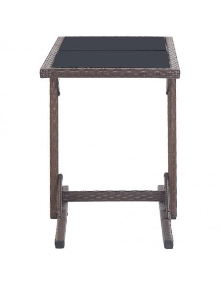 Kosmetinio staliuko rinkinys, juodas, 100x40x146cm, paulovnija | Miegamojo Spintelės | duodu.lt