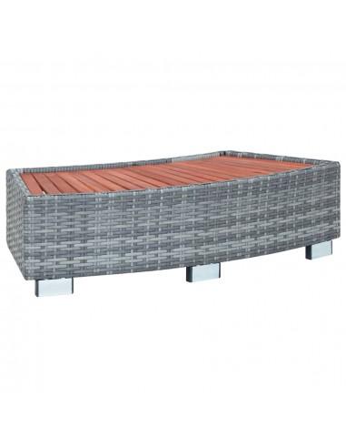 Laiptelis Spa baseinui, 92x45x25cm, poliratanas | Baseinų Kopėčios, Laipteliai ir Rampos | duodu.lt
