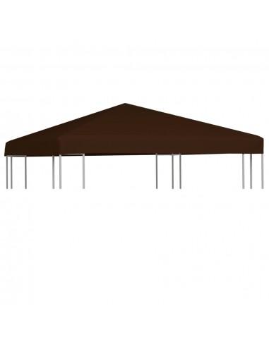 Viršutinis pavėsinės uždangalas, rudas, 3x3m, 310 g/m²   Tentų ir Pavėsinių Stogeliai   duodu.lt