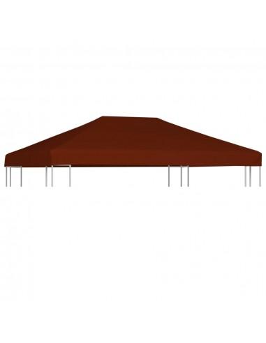 Viršutinis pavėsinės uždangalas, terakota, 3x4m, 310 g/m²   Tentų ir Pavėsinių Stogeliai   duodu.lt