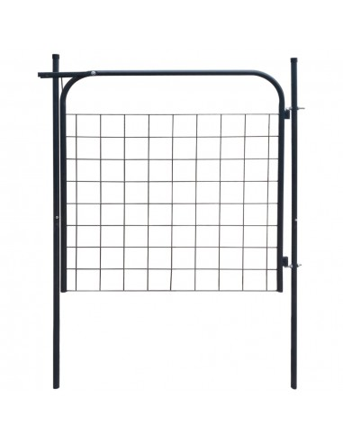 Sodo tvoros vartai 100 x 100 cm, antracito spalvos   Vartai   duodu.lt