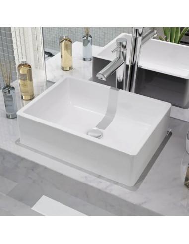 Praustuvas, keramika, baltas, 41 x 30 x 12 cm | Vonios praustuvai | duodu.lt