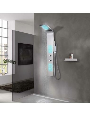 Dušo sistema, nerūdijantis plienas, išlenktos formos | Vonių ir dušų sistemos | duodu.lt