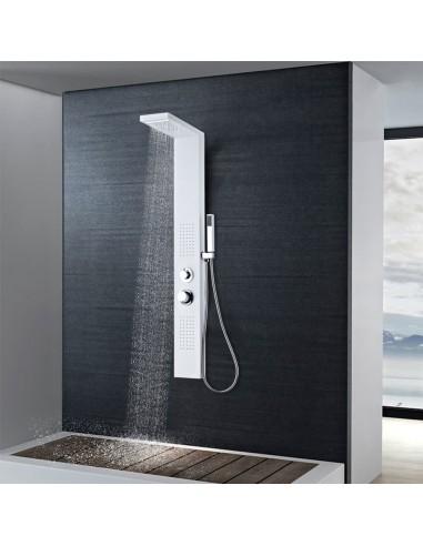 Dušo sistema, aliuminis, matinės baltos spalvos   Vonių ir dušų sistemos   duodu.lt