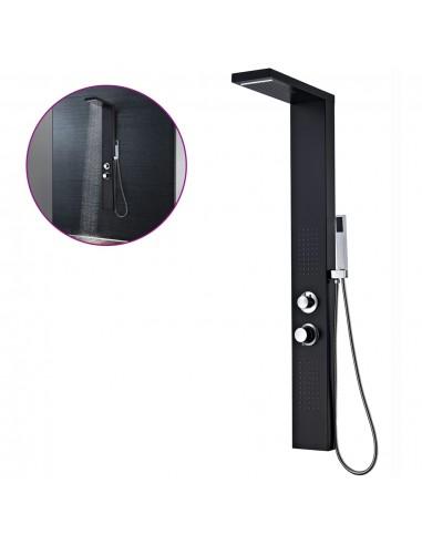 Dušo sistema, aliuminis, matinės juodos spalvos | Vonių ir dušų sistemos | duodu.lt