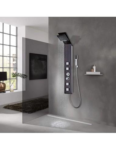 Dušo sistema, stiklas, žalvaris | Vonių ir dušų sistemos | duodu.lt