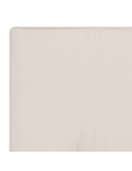 Valgomojo baldų komplektas, 7d., kreminės spalvos, dirbtinė oda | Virtuvės ir Valgomojo Baldų Komplektai | duodu.lt