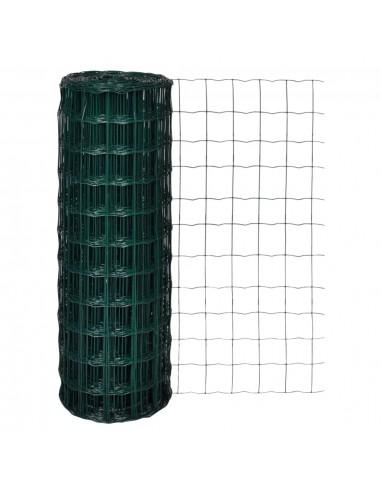 Euro tvora, 25x1,7 m su 100x100 mm plieniniu tinkleliu | Tvoros Segmentai | duodu.lt