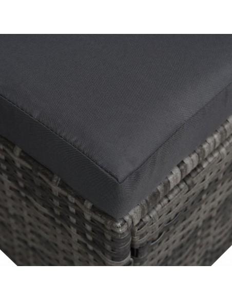 Valgomojo komplektas, 11 dalių, juodos spalvos, dirbtinė oda | Virtuvės ir Valgomojo Baldų Komplektai | duodu.lt