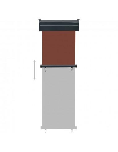 Rankiniu būdu ištraukiama markizė, oranžinė ir ruda, 400x300cm | Langų ir durų markizės | duodu.lt