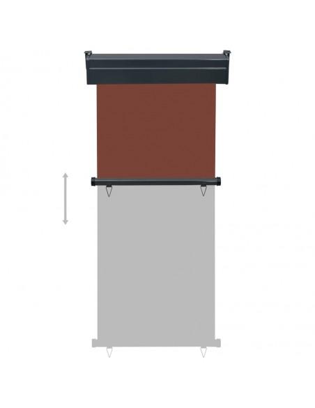 Rankiniu būdu ištraukiama markizė, oranžinė ir ruda, 500x300cm | Langų ir durų markizės | duodu.lt