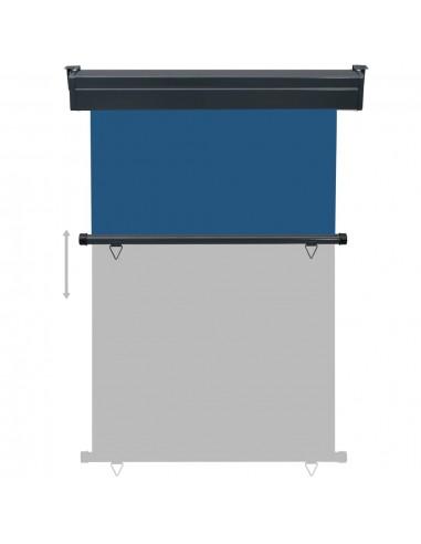 Ištraukiama markizė, mėlyna ir balta, 450x300cm, automatinė | Langų ir durų markizės | duodu.lt