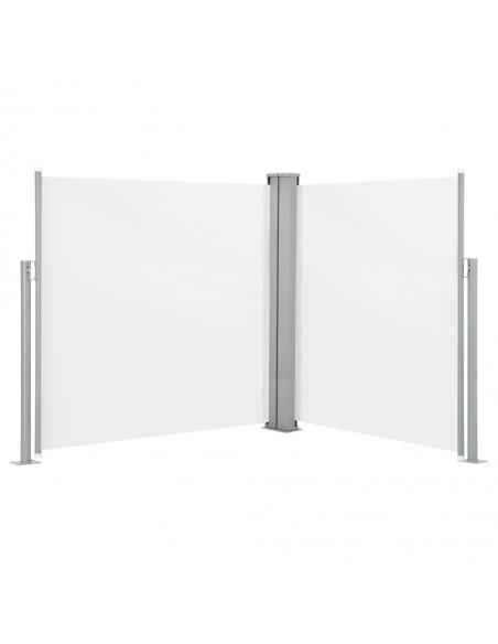 Rankiniu būdu ištraukiama markizė, mėlyna ir balta, 500x300cm | Langų ir durų markizės | duodu.lt