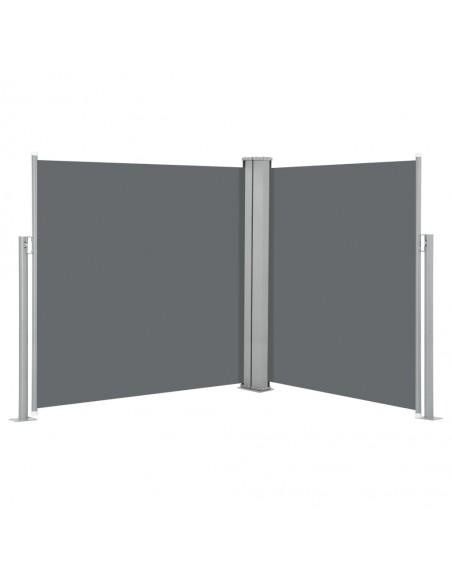 Rankiniu būdu ištraukiama markizė, mėlyna ir balta, 600x300cm | Langų ir durų markizės | duodu.lt