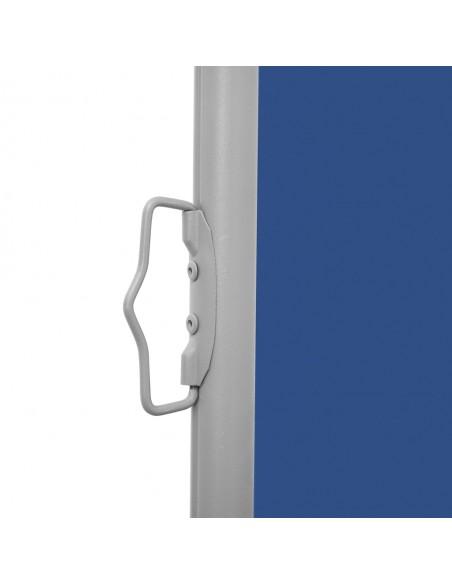 Markizė su vėjo jutikliu ir LED, mėlyna ir balta, 500x300cm | Langų ir durų markizės | duodu.lt