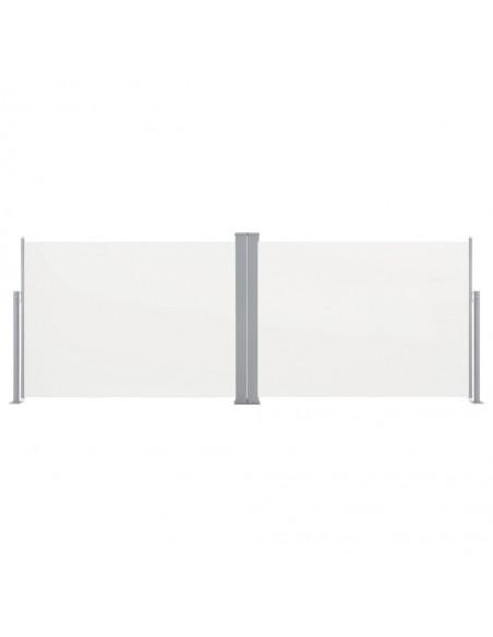 Markizė su vėjo jutikliu ir LED, mėlyna ir balta, 600x300cm | Langų ir durų markizės | duodu.lt