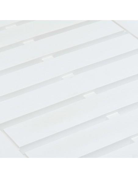 Kampinės lentynos, 2vnt., baltos, 25x25cm, stiklas | Sieninės lentynos ir atbrailos | duodu.lt