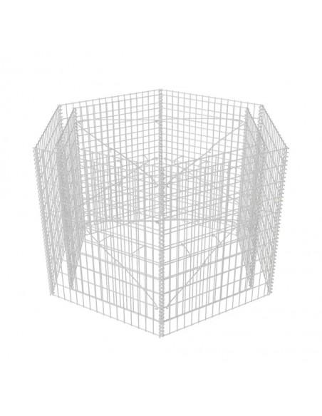 Vielos tinklelio plokštė, nerūd. plienas, 100x85cm, 21x21x2,5mm | Tvoros Segmentai | duodu.lt