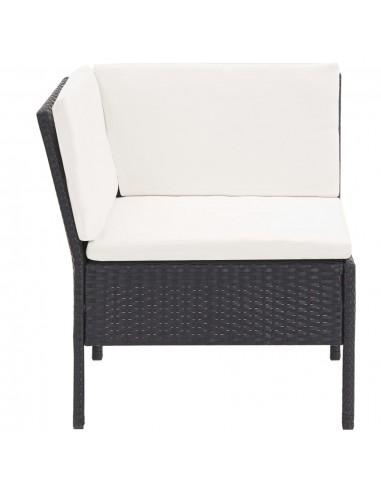Sodo baldų komplektas iš palečių, 6 dalių, baltas, mediena | Lauko Baldų Komplektai | duodu.lt