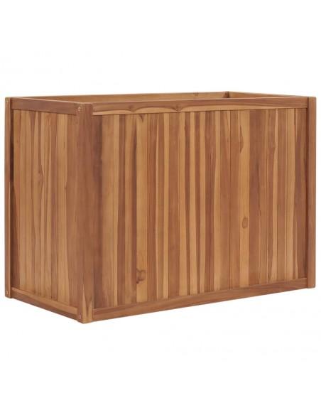 Trivietė sodo sofa iš palečių su juodomis pagalvėlėmis, mediena  | Lauko Sofos | duodu.lt