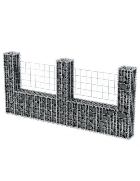 Lauko tvora su iečių viršugal., (0,5-0,75)x6m, plienas, juoda | Tvoros Segmentai | duodu.lt