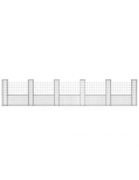 Lauko tvora su iečių viršugal., (0,75-1)x6m, plienas, juoda | Tvoros Segmentai | duodu.lt