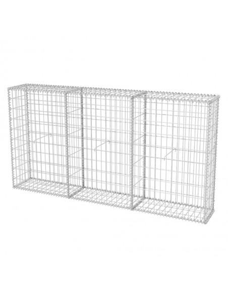 Lauko tvora su iečių viršugaliais, (1-1,25)x6m, plienas, juoda | Tvoros Segmentai | duodu.lt