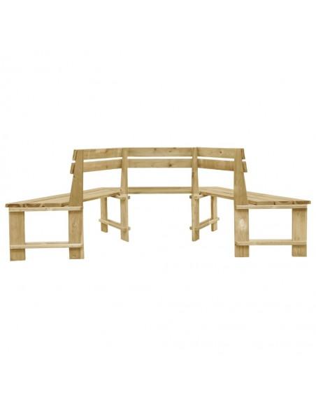 Dvivietė sodo sofa iš palečių su gėlėtomis pagalvėmis, mediena  | Lauko Sofos | duodu.lt