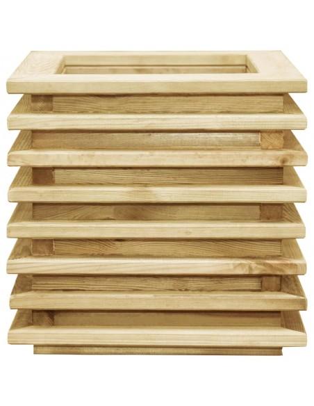 Keturvietė sodo sofa iš palečių su gelėtomis pagalvėmis, mediena  | Lauko Sofos | duodu.lt