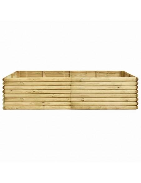 Trivietė sodo sofa iš palečių su juodomis pagalvėlėmis, mediena    Lauko Sofos   duodu.lt