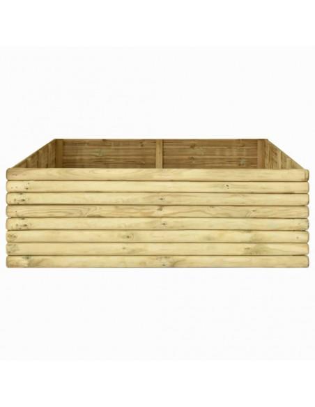 Sodo komplektas iš palečių su pagalvėmis, 6 dalių, mediena    Lauko Baldų Komplektai   duodu.lt