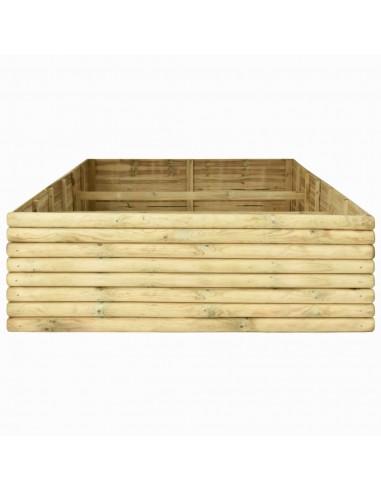 Sodo komplektas iš palečių su pagalvėmis, 6 dalių, mediena  | Lauko Baldų Komplektai | duodu.lt