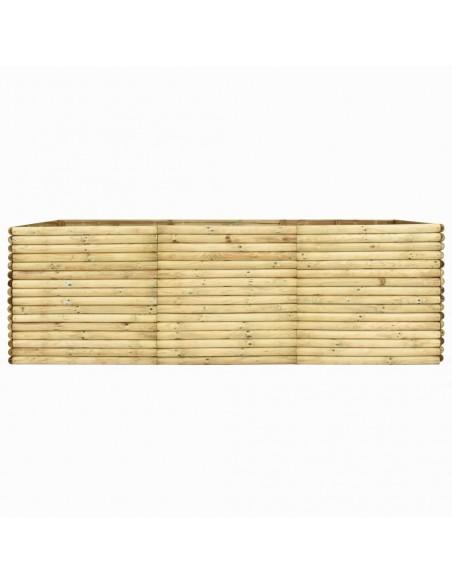Sodo komplektas iš palečių su pagalvėmis, 7 dalių, mediena  | Lauko Baldų Komplektai | duodu.lt
