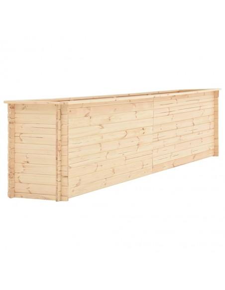 Vidurinė sodo sofa iš palečių su antracito pagalvėmis, mediena  | Lauko Sofos | duodu.lt