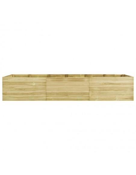 Sodo komplektas iš palečių su pagalvėmis, 4 dalių, mediena  | Lauko Baldų Komplektai | duodu.lt