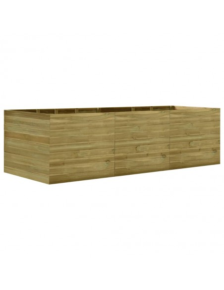 Trivietė sodo sofa iš palečių su taupe pagalvėmis, mediena  | Lauko Sofos | duodu.lt