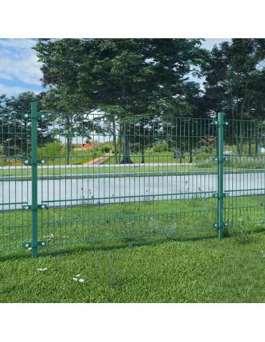 Tvoros segmentai su stulpais, žalia, geležis, 6x1,2 m | Tvoros Segmentai | duodu.lt