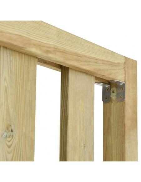 Poilsio komplektas iš palečių su pagalvėmis, 8 dalių, mediena  | Lauko Baldų Komplektai | duodu.lt