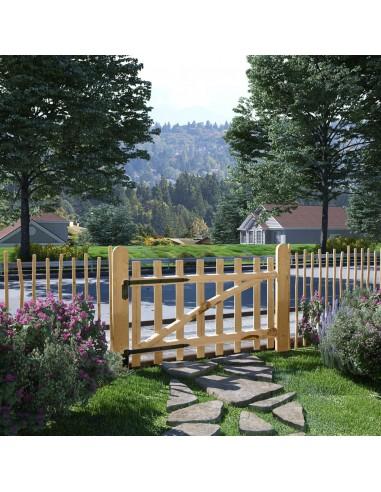Tvoros vartai, lazdyno mediena, 100x60cm | Vartai | duodu.lt
