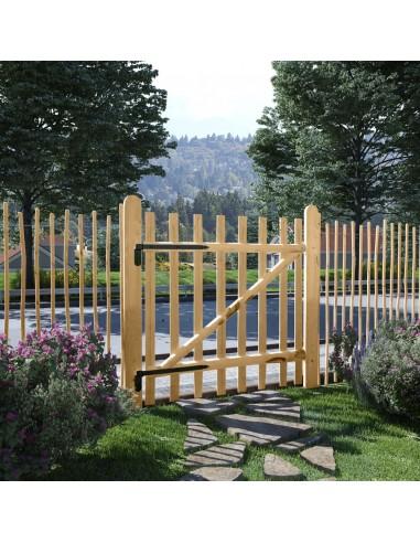 Tvoros vartai, lazdyno mediena, 100x100cm   Vartai   duodu.lt