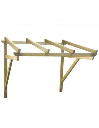 Durų skliautas, 200x150x160cm, pušies medienos masyvas | Langų ir durų markizės | duodu.lt