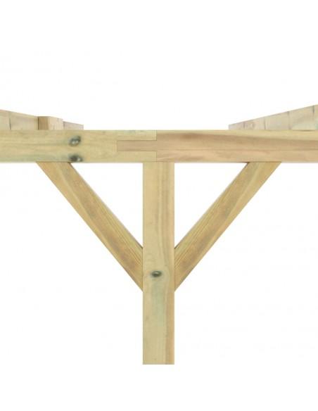 Poilsio komplektas iš palečių su pagalvėmis, 8 dalių, mediena    Lauko Baldų Komplektai   duodu.lt