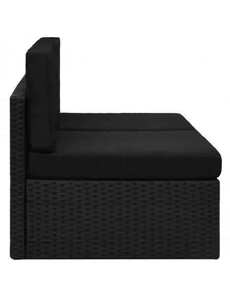 Poilsio komplektas iš palečių su pagalvėmis, 6 dalių, mediena  | Lauko Baldų Komplektai | duodu.lt