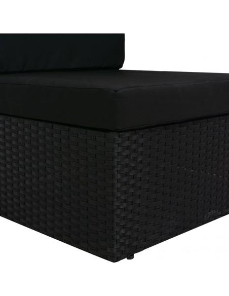 Kampinė sodo sofa iš palečių su kreminėmis pagalvėmis, mediena  | Lauko Sofos | duodu.lt