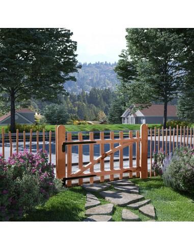 Tvoros vartai, impregnuota lazdyno mediena, 100x60cm   Vartai   duodu.lt