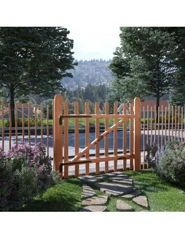 Tvoros vartai, impregnuota lazdyno mediena, 100x90cm | Vartai | duodu.lt